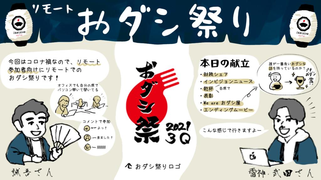インビジョンの「おダシ祭り」を大公開!